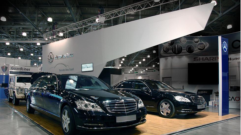 Mercedes | Технологии Безопасности 2012